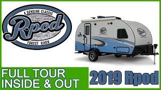 2019 Rpod Tour Inside and Out of 2019 Rpod Camper Trailer Model 190
