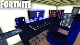MASSIVE Gaming Room in Fortnite Creative (Codes in Comments) The Gamer's Room FFA Deathmatch