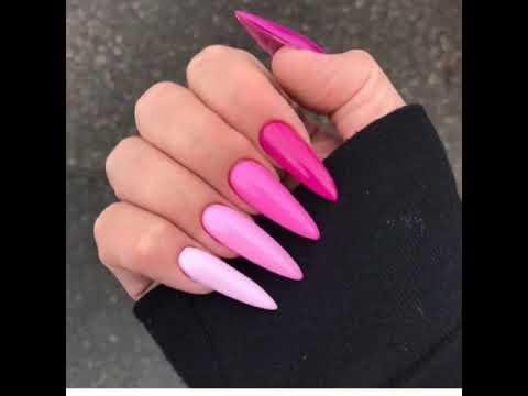 20 baddie nail inspoinstaaestheticsrainbow nails