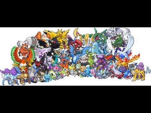Tous les pokemon l gendaire et leur attaque signature - Pokemon x et y legendaire ...