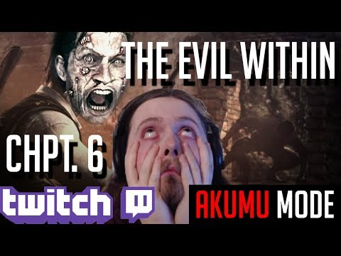 Twitch Stream #7 - Trophy Hunt | The Evil Within: Akumu Mode - THE BURNING HOUSE! [Part 7]