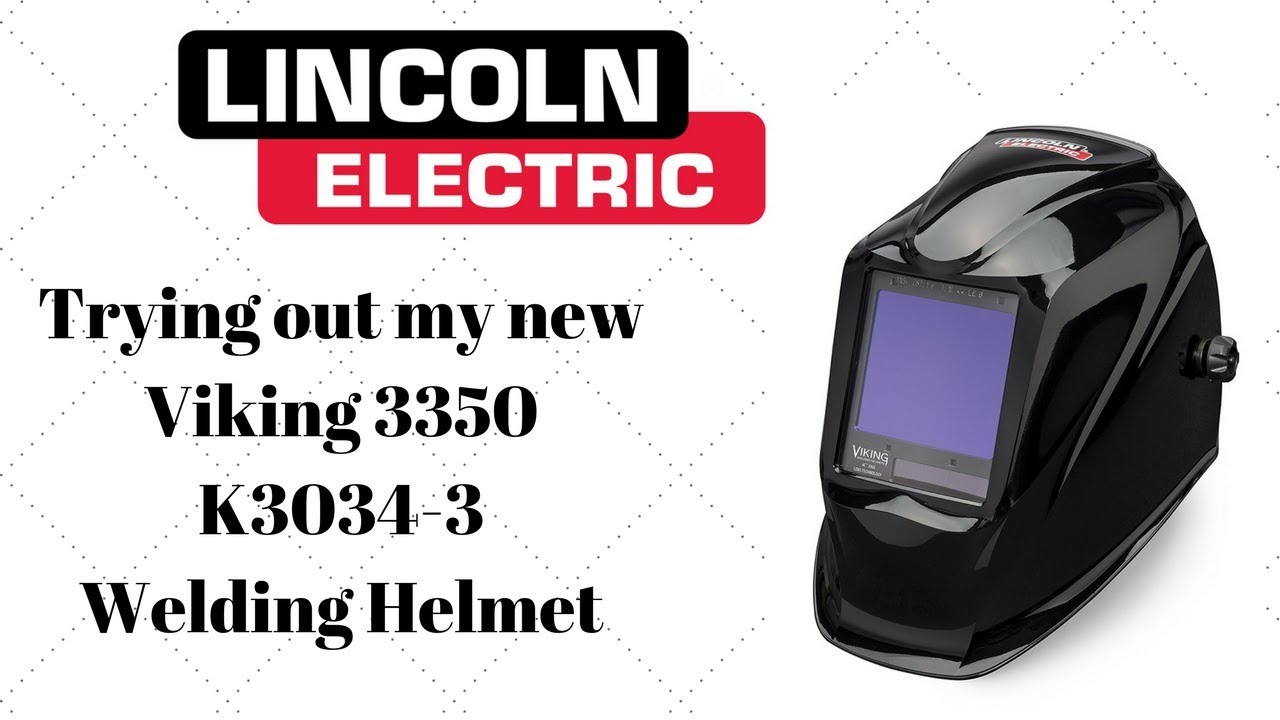 Lincoln Viking 3350 Welding Hood, Review & 1st Time Use