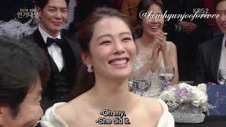 (ENG SUB) 2014 KBS Drama Awards: Kim Hyun Joo Part B (CUT)