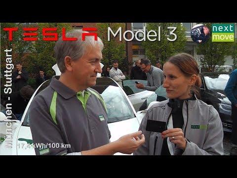 Tesla Model 3: von München nach Stuttgart | nextmove