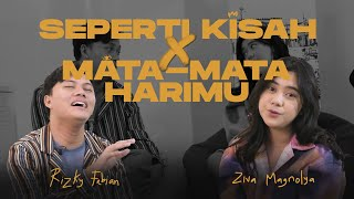 Download Rizky Febian & Ziva Magnolya - Mata-Mata Harimu, Seperti Kisah (medley)