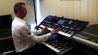 Michelle - In 80 Küssen um die Welt  Yamaha Genos Roland G70 by Rico
