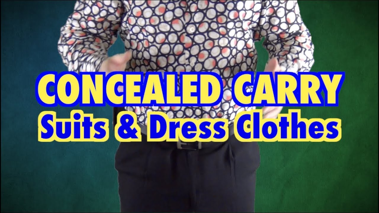 Concealed Carry Suit Amp Dress Clothes Youtube