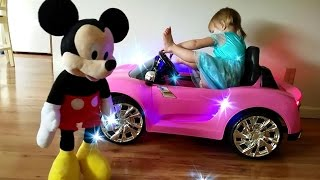 Frozen Elsa Magic Baby | Disney Junior Mickey Mouse Clubhouse Transformation Fun