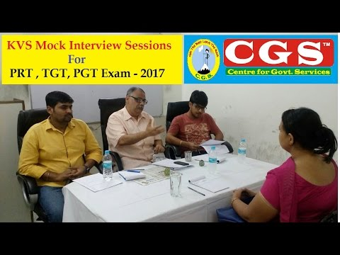 KVS Interview Special Video Series   Real Mock Interview & Micro Teaching    CGS Coaching