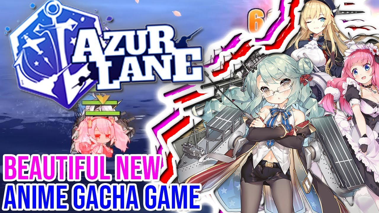 Amazing new anime gacha game im in love azur lane open beta access