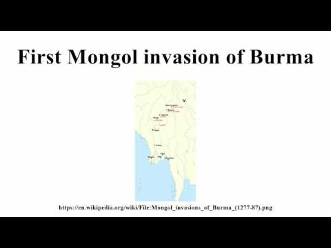 First Mongol invasion of Burma