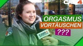 Täuschst du deinen Orgasmus vor? (Straßenumfrage)