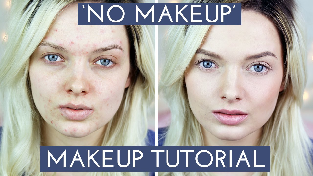 Acne coverage no makeup makeup tutorial mypaleskin youtube ccuart Image collections