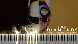 Cro - DIAMONDS (Piano Tutorial + Noten)