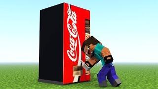 Minecraft SODA MACHINE MOD
