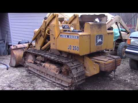 John Deere 350 Crawler Loader Comes Home YouTube