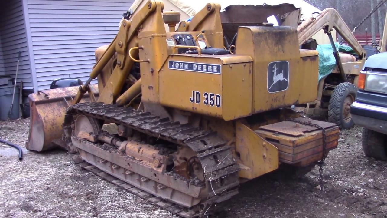 John Deere 350 Crawler Loader Comes Home!
