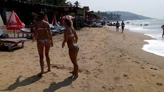 Anjuna Beach, Goa 2019