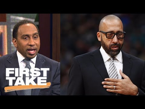Stephen A. Smith calls David Fizdale firing from Grizzlies 'B.S.' | First Take | ESPN