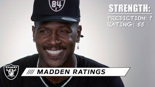 "Raiders react to their Madden 20 ratings: ""Who does these?"" 