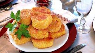 Горячие закуски Картофельный рулет с сосиской в кляре