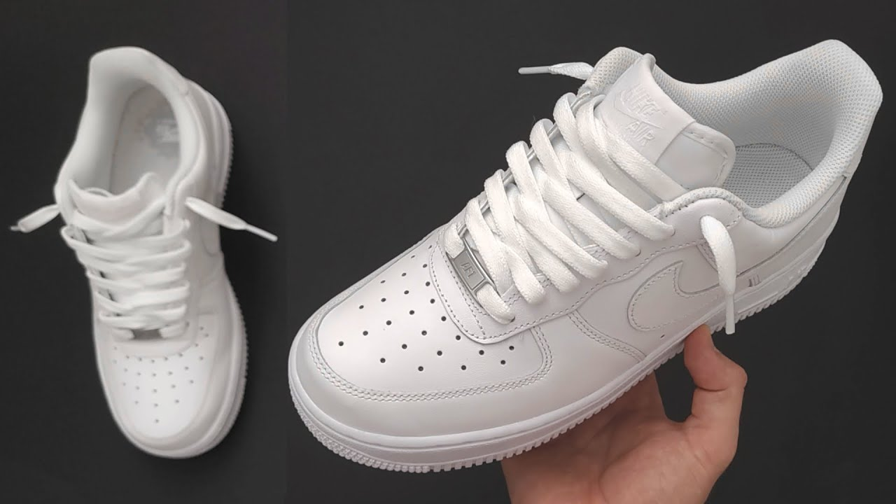 Nike Air Force 1 Cool lacing (Loosely