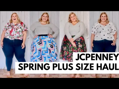 JCPenney Plus Size Spring Haul