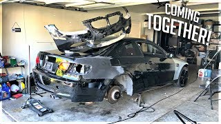 Rebuilding A Wrecked BMW M3 Part. 10