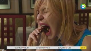 Необычное блюдо: пробуем на зуб мадагаскарских тараканов.