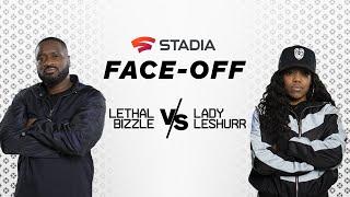 Lethal Bizzle vs. Lady Leshurr: Mortal Kombat 11 | Stadia Face-Off