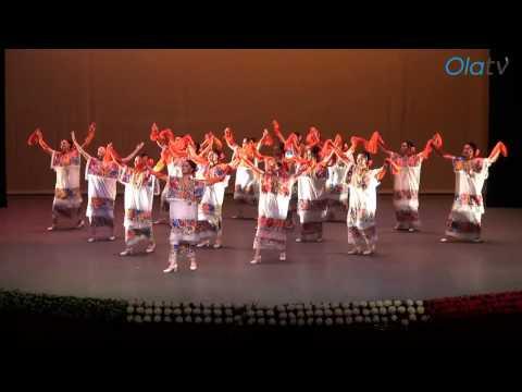 Gala del Ballet de Amalia Hernández en La Paz BCS, México