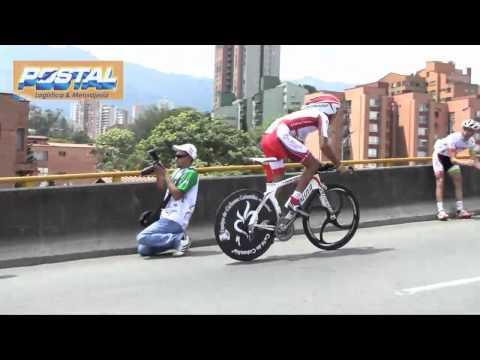 Revista Mundo Ciclistico: Vuelta a Colombia 2010 Et14 (CRI medellin) ciclismo Cycling