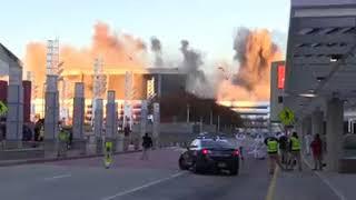 Watch the Georgia Dome in Atlanta implode