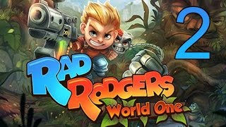 Rad Rodgers: World One Level 1 Walkthrough Part 1 Gameplay Platformer Game No Commentary LetsPlay