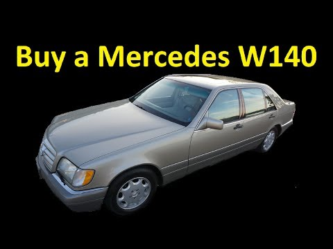 MERCEDES BENZ S CLASS W140 FOR SALE ~ FULL REVIEW A++ CLASSIC