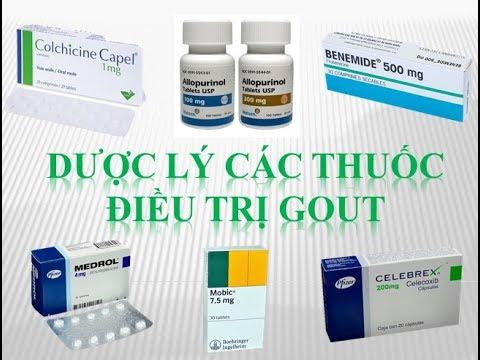 [Pharmog SS1 – Tập 13] – Dược lý về thuốc điều trị Gout