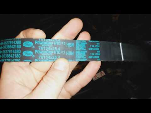 Замена ремня ГРМ на Ситроен С4 и Пежо 308