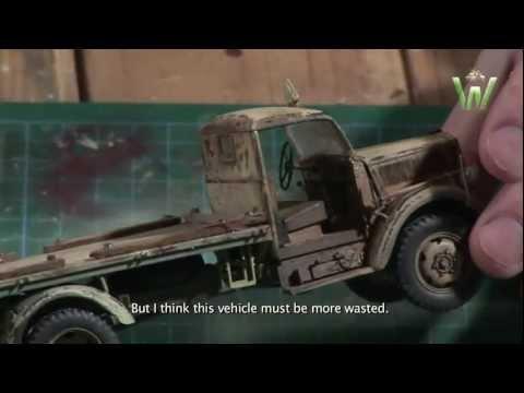 Warfare In Scale Chapter #7 - D.A.K. Opel Blitz & Flak37 1/35