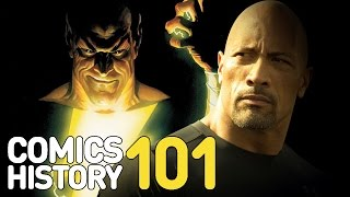 Everything You Need to Know About Black Adam - Comics History 101