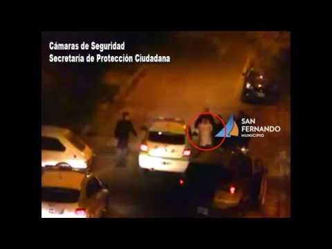 San Fernando: Atrapado infraganti al robar un auto