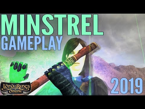 LOTRO: Minstrel Gameplay 2019 - ALL Specs (Lord Of The Rings Online)