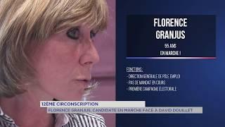 Florence Granjus : Candidate En Marche, face à David Douillet dans la 12e