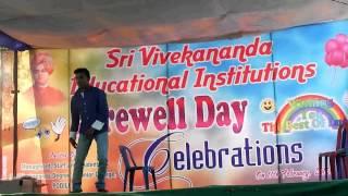Babu Rao Dance S V D C Podili