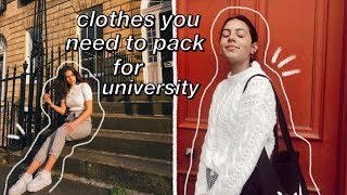 clothes you should and shouldn't bring to university! back to university 2019 :)