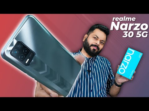 realme Narzo 30 5G Unboxing And First Impressions ⚡ Dimensity 700, 90Hz Screen, 5000mAh & More