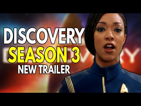 NEW Star Trek Discovery Season 3 TRAILER Breakdown & Story Details!