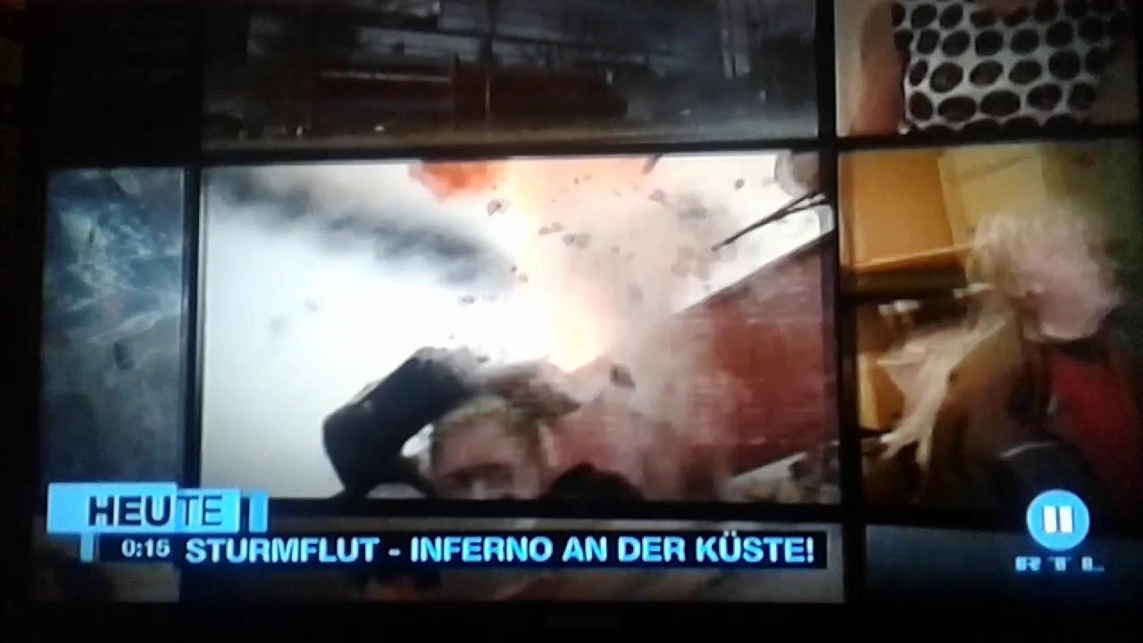 Sturmflut Inferno An Der Küste Stream