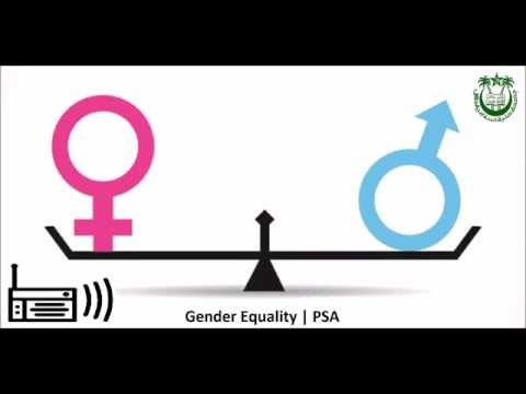 Public Service Announcement  | Gender Equality