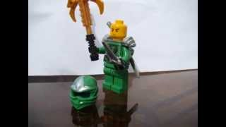 Lego Ninjago Green Ninja Custom Made Minifigure For Sale! Update: Giveaway Contest