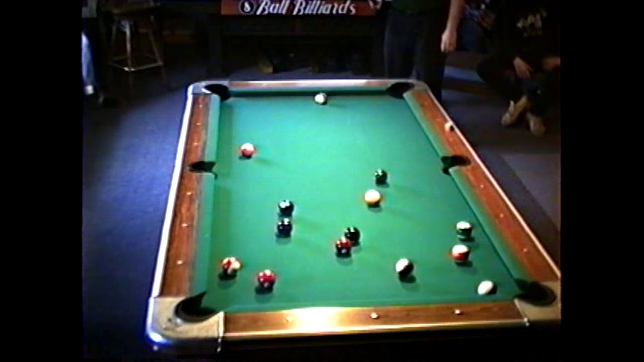 Northern Tier Pool Tourney part one  2-25-96